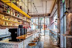 Holborn Grind de Biasol: Design Studio | Intérieurs de café