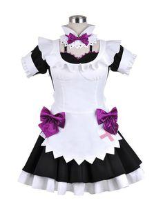 $79.99 + FREE SHIPPING! Love Live! School Idol Project Nishikino Maki Maid Cosplay - OtakuForest.com