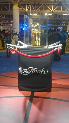 The 2014 NBA Larry O' Brien Championship Trophy