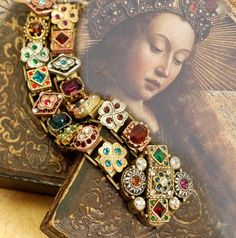 Victorian Bracelet Renaissance Bracelet Wedding Bracelet - October 19 2019 at Renaissance Jewelry, Ancient Jewelry, Antique Jewelry, Vintage Jewelry, Vintage Charm Bracelet, Viking Jewelry, Royal Jewelry, Sea Glass Jewelry, Silver Jewelry