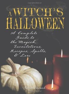 Witch's Halloween: A Complete Guide to the Magick, Incantations, Recipes, Spells, and Lore by Gerina Dunwich, http://www.amazon.com/dp/1598693409/ref=cm_sw_r_pi_dp_lzv0pb1XGJB8S