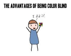 Being colorblind