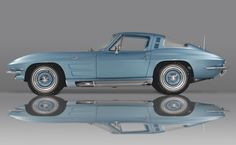 "A custom 1964 style Corvette that was once owned by Chevrolet General Manager Semon E. ""Bunkie"" Knudsen. That color..."