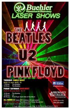 Laser Show The Beatles Fort Lauderdale, FL #Kids #Events