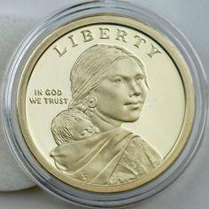 Mint Rolls 2014 P+D+S Native American Sacagawea Proof /& PD from Original U.S