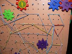 DIY Chalboard, Feltboard, Pegboard, Geoboard, Gear Board, and Front Facing Book Shelves OH MY! - Child Central Station