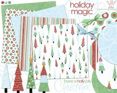 The Official Digital Scrapbooking Free Site Kit Scrapbook, Free Scrapbook Paper, Scrapbook Patterns, Scrapbook Designs, Free Digital Scrapbooking, Scrapbooking Kit, Digital Papers, Origami, Christmas Crafts
