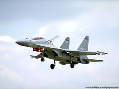 Russian Sukhoi Su-30 Fighter Jet