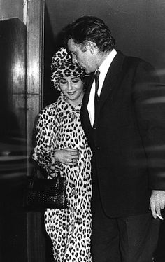 "Liz Taylor:""With Richard Burton, I was living my own fabulous, passionate fantasy."""