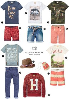 There is always something exciting with a new Scotch Shrunk collection and this summer's outfits are so nice for the boys. Here are a fe...