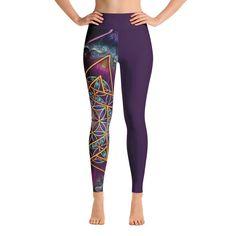 Sacred Geometry Yoga Leggings