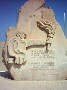 Tumba+del+Soldado+Desconocido,+Arica-Chile+:+Fotografía+de+la+Tumba+del+Soldado+Desconocido+en+la+cima+del+Morro+de+Arica,+allí+se+encuentra+sepultado+un+soldado+chileno+que+fue+encontrado+cerca+de+Pisagua,+que+entregó+su+vida+para+conquistar+ese+suelo+que+cubre+sus+restos+como+testimonio+de+valor+y+entrega+de+los+hijos+de+Chile. Saludos,+y+gracias+por+pasar+por+este+humilde+sitio.+|+veterano_del_79