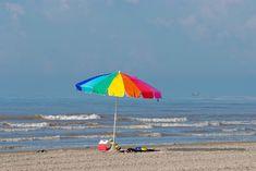 Vacation, Beach Sand Umbrella Colorful Sunbathers Oc #vacation, #beach, #sand, #umbrella, #colorful, #sunbathers, #oc