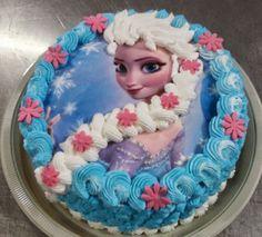 Bolo Elsa - Frozen