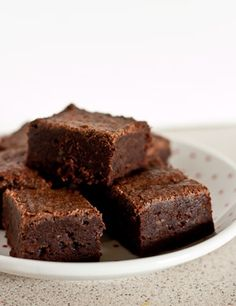 …Sorry, but they are. Even as a cakey brownie fan, I am won over. Despite their very average appearance, these brownies have made me seriously consider buying Julia Child's Baking with …