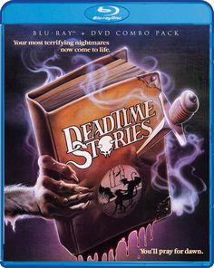 Deadtime Stories (1986) Scream Factory Blu-Ray + DVD Combo Pack Cover