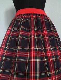 """Kostkovaná Sukně \""""Lovely Scottish...\""""#7 POSLEDNÍ !"""