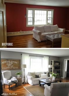 Jason's Full House Tour (Lots of Before and Afters) by Dear Lillie-October 2014. Gorgeous~!~