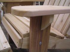 Adirondack Love-seat Unfinished Kit