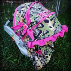 Custom Infant Carseat Set made by Stitch-A-Bility by Angela