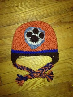 Crochet paw patrol zuma hat by HappyKreations00 on Etsy
