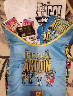 Teen Titans GO to the movies prize pack