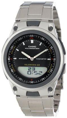 Casio Men%27s AW80D-1AVCB 10-Year Battery Ana-Digi Bracelet Watch
