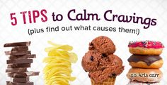 Kris Carr walks through the main causes of common food cravings including helpful tips for how to overcome these cravings.