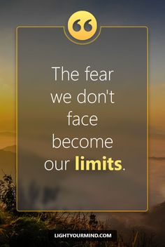 The fear we don't face become our limits | Motivational quotes for success | Goal quotes | Passion quotes | Motivational Quotes | Procrastination quotes | motivational quotes for life |procrastination quotes no excuses #success #quotes #inspirational #inspired #quotesoftheday #instaquote #qotd #words #quotestoliveby #wisdom #quotestagram #lifequotes