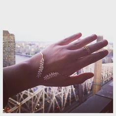 Playing dress up in the #ALEXMIKA Leaf Palm Cuff  Link #Ring  #Shop  save 50% off these #jewels  more #styles using code 50AMJ on alexmikajewelry.com