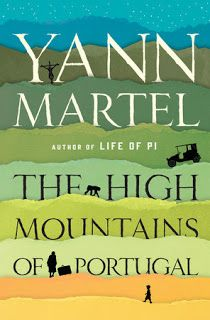Books and Quilts: The High Mountains of Portugal by Yann Martel