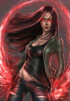 Scarlet Witch Civil War by milk00001 on DeviantArt