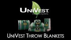 UniVest® Throw Blankets are unique, removable/reusable insulation covers that protect at temperatures up to 900°F. They are lightweight, modular and easy to maneuver. We continue to accelerate innovation with our: Innovative Ideas, Innovative Products, & Innovative People. https://shop.unitherm.com/Pipe-and-Heater-Insulation-s/1860.htm