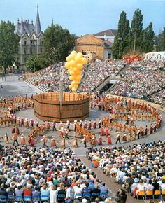 """What a celebration of culture and heritage ~ """"Fête des Vignerons"""" in Vevey Switzerland"""
