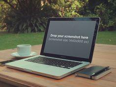 Macbook Mockup, Macbook Pro Retina, Moleskine Notebook, Portfolio Ideas, Mockup Templates, Brain Teasers, Coupon, Outdoors, Apple