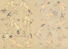 hokusai - implied motion