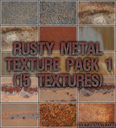 Free Texture Pack for Commercial Use - Rusty Metal 1 Metal Background, Textured Background, Photoshop, Rusty Metal, Texture Packs, Metal Texture, Article Design, Packing, Create