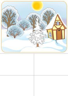 seizoenenspel winter 1 voor kleuters, free printable