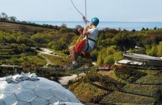 SkyWire | Eden Project | Cornwall's longest zip wire