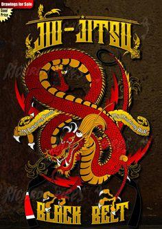 Jiu-Jitsu Dragon Available for Sale Contact