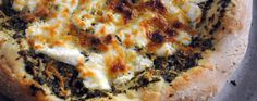 Pesto Cheese Pizza Recipe | Greatist