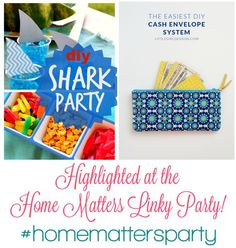 Check out these fantastic features over at the Home Matters Party - it's still live!