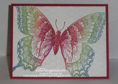 Sparking Swallowtails by shoogendoorn - Cards and Paper Crafts at Splitcoaststampers