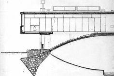 Casa del Puente  Amancio Williams, 1943-1945 Amancio Williams, Model Sketch, Small World, Bauhaus, Bs As, Thesis, Models, Design, Modern Architecture