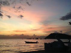 Pôr-do-sol em Paquetá