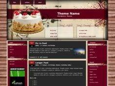 84 templates WordPress per blog di cucina e ricette (3a parte).Cake Recipe