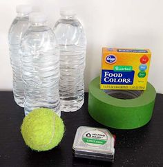 """Can science help explain why some carnival games seem impossible to win? In the """"Knock Your Blocks Off: The Mechanics of Carnival Games"""" #science project, students put water-filled bottles to use as they investigate how changing the center of mass of a pyramid of bottles affects how easy it is to knock down the pyramid. [Source: Science Buddies, http://www.sciencebuddies.org/science-fair-projects/project_ideas/ApMech_p021.shtml?from=Pinterest] #STEM #scienceproject"""