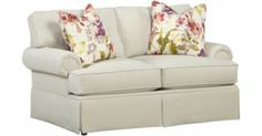 Living Rooms, Veranda Loveseat, Living Rooms | Havertys Furniture. #HavertysRefresh