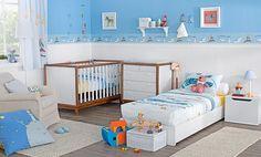Tok&Stok Quarto infantil Praticidade e conforto devem ser pensados nos mínimos detalhes.
