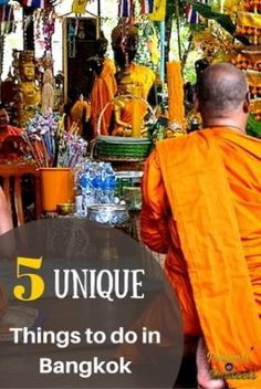 5 Unique Things to Do in Bangkok, Thailand - Peanuts or Pretzels Travel #Thailand #POPTravel #Travel #Bangkok
